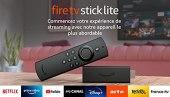 Découvrez Fire TV Stick Lite avec télécommande vocale Alexa   Lite (sans boutons de contrôle de la TV), Streaming HD, Modèle 2020