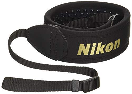Nikon ネックストラップ 一眼レフ用 シンプル ブラック AN-SNP001