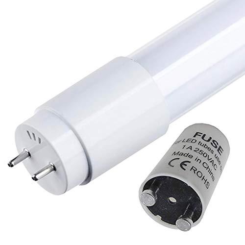 (LA) Tubo LED 5x a 360 gradi, 120 cm, bianco freddo (6500 K). Standard T8 G13-18w - 1800 lumi reali! Primer LED incluso.
