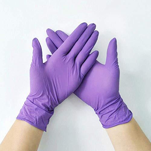 Uhjg, guanti usa e getta in lattice, guanti universali per la pulizia del giardino, guanti in gomma...