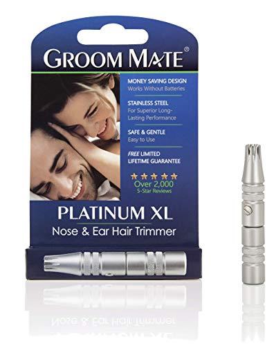 9. Groom Mate Platinum XL Nose & Ear Hair Trimmer
