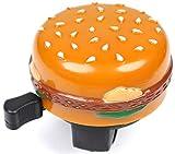 Trail This Cheeseburger Bicycle Fun Bell for MTB Road Cruiser Bikes Burger/Hamburger