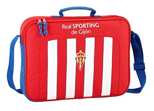 Safta Maletín Real Sporting De GijonOficial Para Ordenador 380x60x280mm