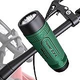 Haut-Parleur Bluetooth Portable 10 W, Haut-parleurs Bluetooth sans Fil étanches, Son stéréo HD Puissant avec lumières et Microphone, Carte AUX/TF pour Le...