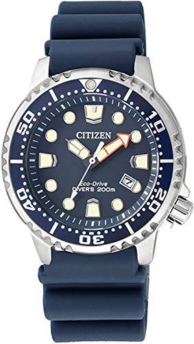 Citizen Damen Analog Quarz Uhr mit Kautschukarmband EP6051-14L