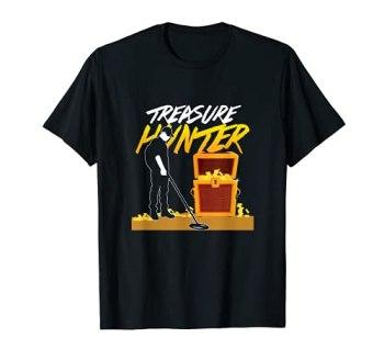 Détecteur de métaux Geocacher, Geocaching, Chasse au trésor T-Shirt
