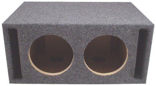 Car Audio Dual 15' SPL Bass Subwoofer Labyrinth Vent Sub Box Stereo Enclosure