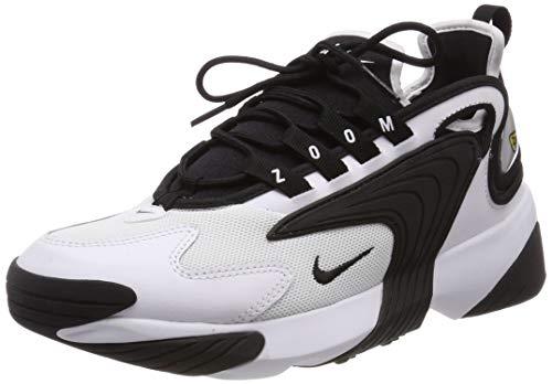 Nike Damen WMNS Zoom 2K Laufschuhe, Weiß (White/Black 100), 41 EU