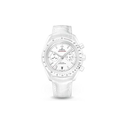 Omega Speedmaster Moonwatch White Side of The Moon Men's Watch 31193445104002
