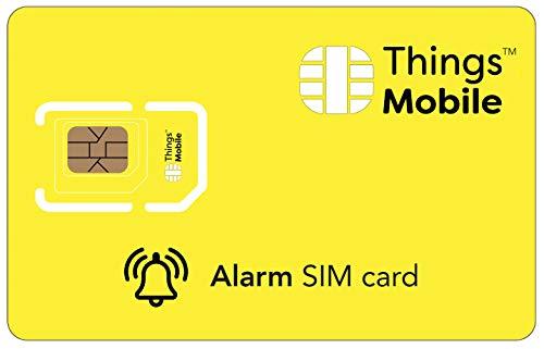 Tarjeta SIM para sistemas de alarma antirrobo - GSM / 2G / 3