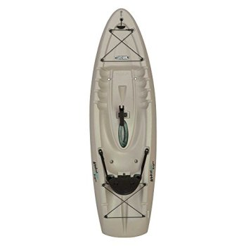 Lifetime Hydros Angler Kayak with Paddle, Sandstone, 101""