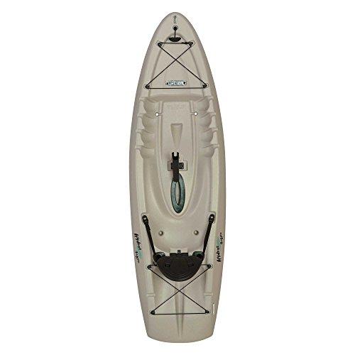 "Lifetime Hydros Angler Kayak with Paddle, Sandstone, 101"""