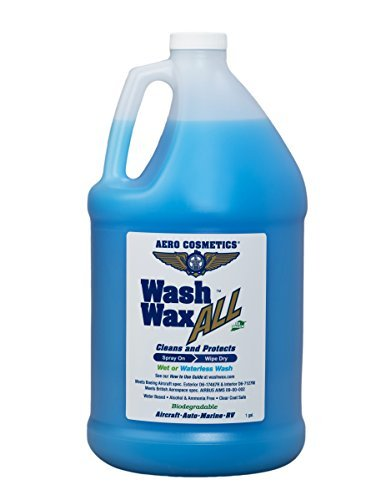 Wet or Waterless Car Wash Wax 128 Ounces. Aircraft Quality...