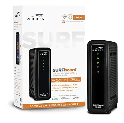 ARRIS SURFboard SBG10 DOCSIS 3.0 Cable...