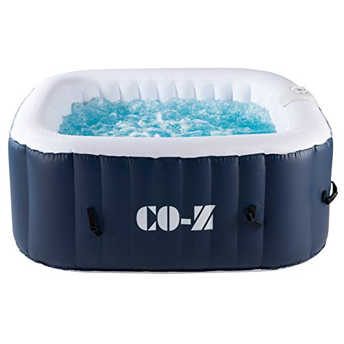 CO-Z 4-Person Inflatable Hot Tub with 120 Bubble...