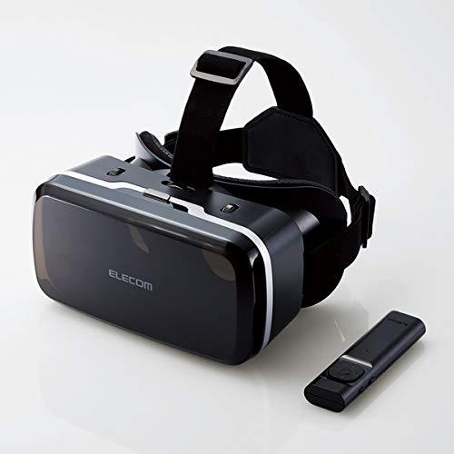 エレコム VRゴーグル VRグラス 目幅・ピント調節可能 VRコントローラー付き Bluetooth DMM動画専用(iOs) メ...