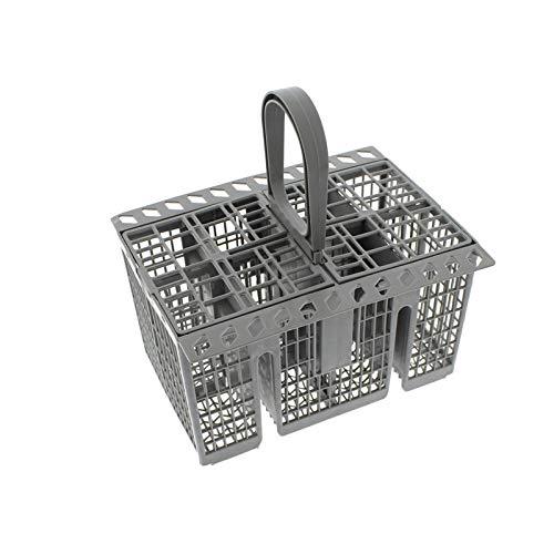Find A Spare - Cesto portaposate di ricambio per lavastoviglie con manico e coperchio, per Ariston...
