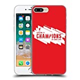 Head Case Designs Officially Licensed Liverpool Football Club Europe Six Times 4 2019 Champions Soft Gel Case Compatible with Apple iPhone 7 Plus/iPhone 8 Plus