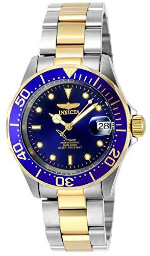 Invicta 8928 Pro Diver Orologio da Unisex acciaio inossidabile Automatico quadrante blu