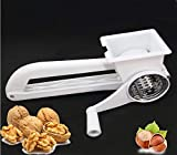 Classic Rotary Cheese Grater - Stainless Steel Drum Blades Sharp Cylinder - Shredder Cutter Grinder Vegetables Cheese Cutter Slicer for Nuts Walnut Almond cashew peanut - Best Xmas Gift - BOXED
