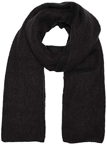 ONLY Damen ONLLIMA Knit Long Scarf Acc NOOS CC Schal, Schwarz (Black Black), (Herstellergröße: One Size)