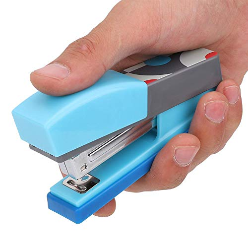 Cucitrice da tavolo Cucitrice meccanica verticale mini con Capacit 20 fogli Include 1 scatola di...