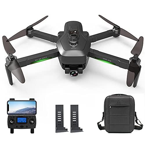 Consegna 3~7 Giorni, ZLL SG906 MAX GPS Drone con Telecamera 4K HD, Evitamento Ostacoli Laser a 360 Gradi, Gimbal WiFi FPV a 3 Assi, Distanza di Controllo di 1,2km Quadricottero RC Droni, 2 Batterie