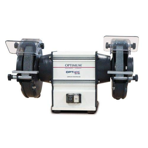 Stürmer Optimum Doppelschleifmaschine OPTIgrind GU 18 (2 Schleifscheiben fein+grob, Funkenschutz, wartungsfreier Motor) 3101510