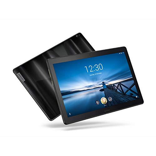 Lenovo Smart Tab P10, 10.1' Alexa-Enabled Android Smart Device Tablet, Octa-Core Processor, 1.8GHz, 32GB, Dual Glass Design, 4 Speakers, Charging Dock incl, Android Oreo, ZA440145US, Aurora Black