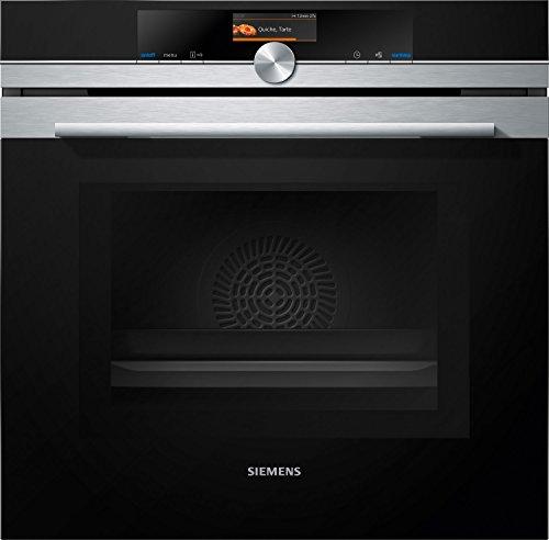 Siemens iQ700 Einbau-Elektro-Backofen mit Mikrowelle HM676G0S1 / Edelstahl / A+ / activeClean Selbstreinigungs-Automatik / varioSpeed / cookControl Plus vollautomatisches Braten