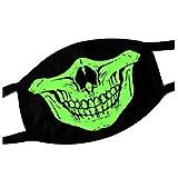 Kylin Express Noctilucent Earloop Mouth Face Mask 100% Cotton Creative Mask E