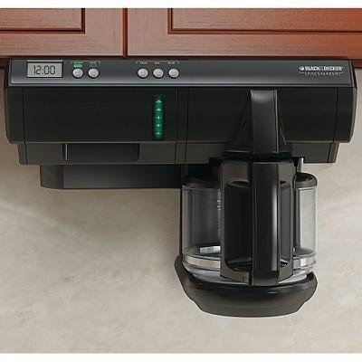 New Applica Black & Decker Spacemaker SDC740B Brewer With...
