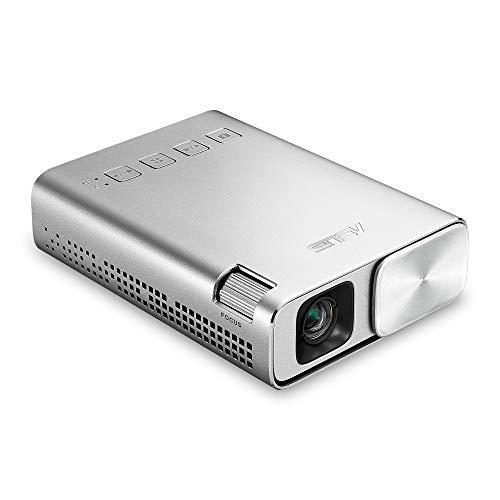 """ASUS ZenBeam E1 - Proyector (0.2"""" DLP, 854 x 480, 150 lúmenes, 1.4:1, 24 W), Plata"""