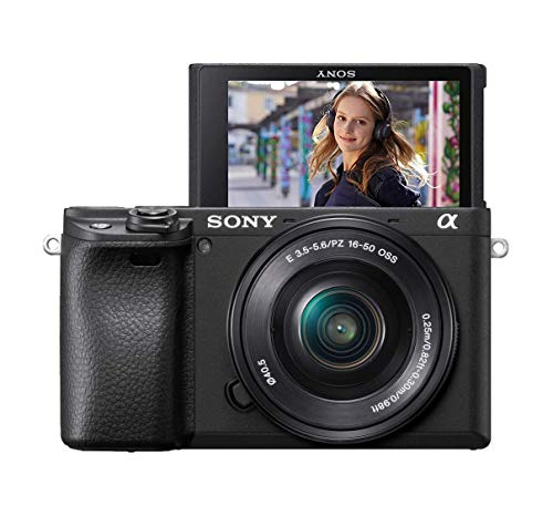 Sony Alpha 6400L Kit Fotocamera Digitale Mirrorless con Obiettivo Intercambiabile SELP 16-50 mm,...