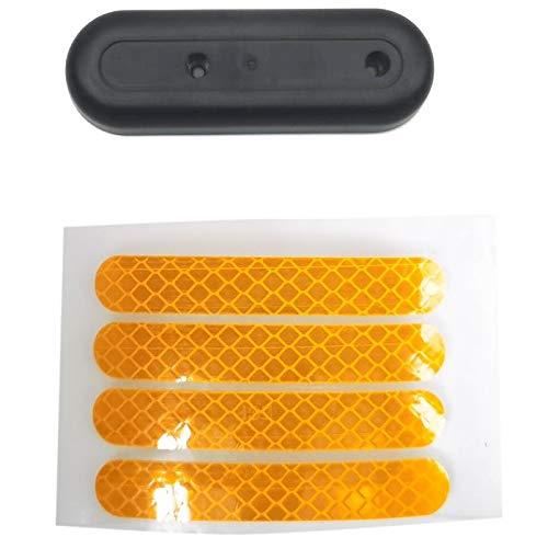 Dasing Cubierta Decorativa de Horquilla Trasera y Reemplazo de Adhesivos para Accesorios de Scooter EléCtrico Ninebot MAX G30