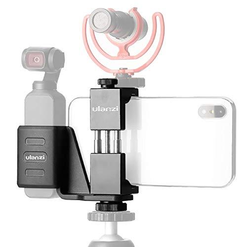 Ulanzi OP1 DJI Osmo Pocket用スマホホルダーセット ハンドヘルド スマホクリップ モバイルブラケットセット ジンバルスタンド