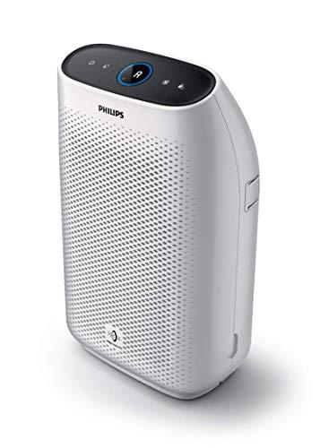 Philips Purificatore d'Aria AC1215/10 con Tecnologia VitalShield IPS e Filtro Nanoprotect, 50 watt, Superficie 63 m², Bianco