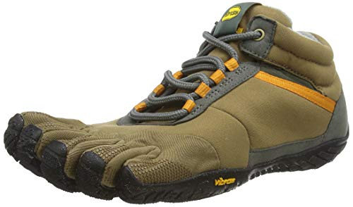 Vibram FiveFingers 15M5301 TREK Ascent Insulated, Outdoor Fitnessschuhe Herren, Mehrfarbig (Khaki/Orange), 42 EU