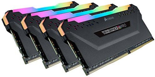 Corsair-Vengeance-RGB-Pro-64GB-4x16GB-DDR4-3600-PC4-28800-C18-Desktop-Memory--Black-CMW64GX4M4D3600C18