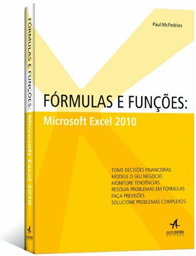 Fórmulas y funciones. Microsoft Excel 2010