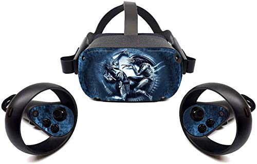 Alien vs. Predator 1 Oculus Quest Oculus Quest Skin Cover for VR Headset System and Controller by Bafna Anusha