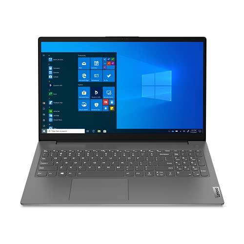 Lenovo V15 G2 - Ordenador Portátil 15.6' FHD (AMD Ryzen 3 5300U, 8GB RAM, 256GB SSD, Integrated AMD Radeon Graphics, Windows 10 Pro), Negro - Teclado QWERTY Español