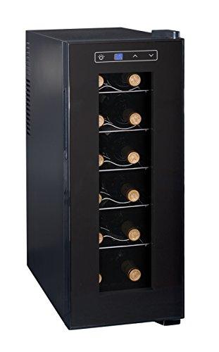 Ardes 5I12V AR5I12V Cantinetta Termoelettrica da 12 Bottiglie con Luce Interna, Display Digitale,...