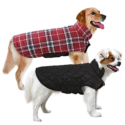 MIGOHI Dog Jackets for Winter Windproof Reversible...