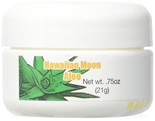 Hawaiian Moon Aloe Cream - .75 Oz Skin Care Jar (Travel Size)