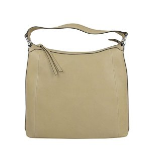 Gucci Women's Bamboo Beige Soft Leather Zip Top Handbag with Detail 355774 9909 31