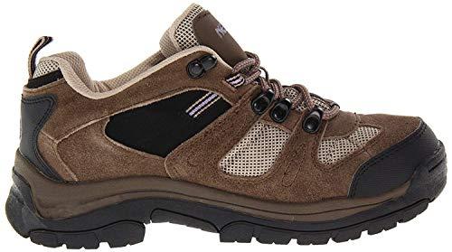Nevados Women's Klondike Waterproof Low V4161W Hiking Boot,Dark Brown/Black/Taupe,8.5 W US