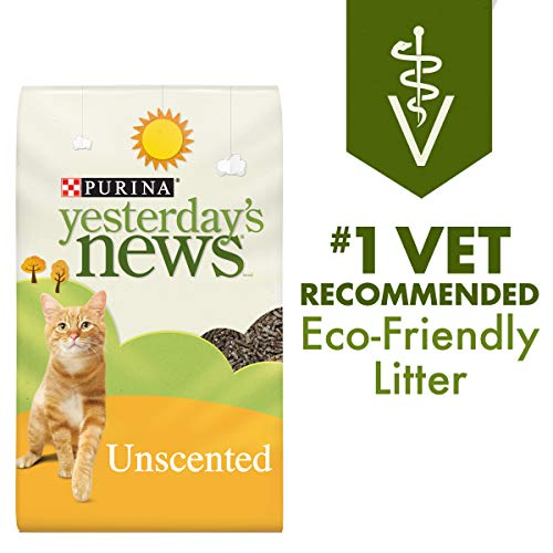 Purina Yesterday's News Non Clumping Paper Cat Litter,...