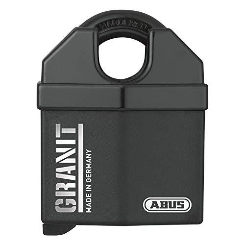 ABUS Vorhangschloss Granit 37/60 Premium-Schloss für höchste Beanspruchungen - Sicherheitslevel 10 - inkl. 2 Schlüssel - schwarz - 35062