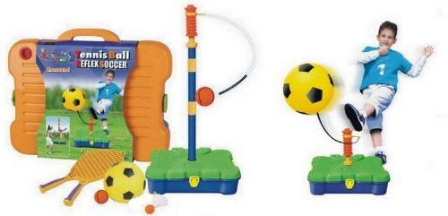 Kings Sport-Set per Sport 3 in 1, Reflex, calcio, Tennis, Badminton & abilit per allenamento, per bambini ARTICOLO IN ASSORTIMENTO